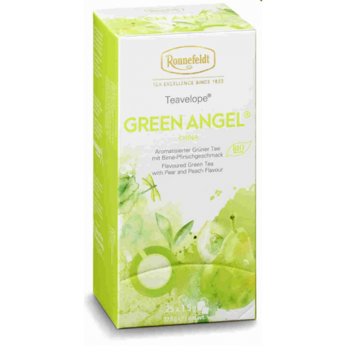 TEAVELOPE Green Angel BIO